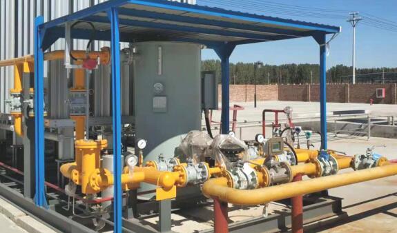 LWQ型涡轮气体流量计安装实图