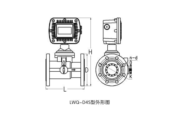 LWQS型气体涡轮流量计
